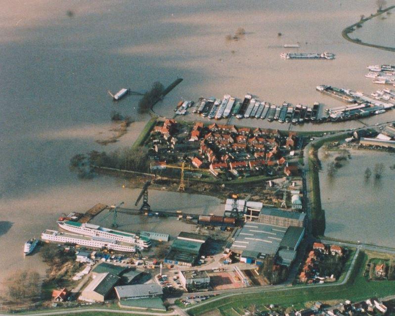 Overstroming Rijn 1995 - Tuindorp